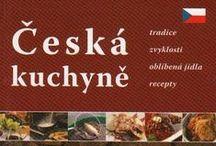CZECH CUISINE • CZECH FOOD AND DRINKS • European Cuisine • Eastern Europe Food Recipes / Česká kuchyně, tradice, zvyklosti, oblíbená jídla, recepty. Tradiční polévky: bramborová, česnečka, gulášová, dršťková, fazolová, zelná s klobásou, hovězí s játrovými knedlíčky a nudlemi, kulajda a houbová polévka. Rychlé občerstvení: obložené chlebíčky, utopenci, smažák, pivní sýr, smažené bramboráky. Tradiční pokrmy jsou vepřový řízek, vepřo knedlo zelo, pečené vepřové maso, pečená kachna, guláše, smažený kapr, pečená sekaná. Nápoje: pivo, slivovice, becherovka, mattoni, kofola, fernet.