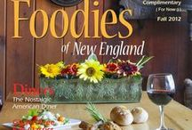 Foodies of New England ✨ / Foodies of New England is a magazine focused on the cuisine scene throughout the region, be it food and drink, chefs, restaurants, farms, specialty shops, artisan food producers, and...