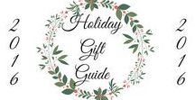 Holiday Gift Guide / The holidays are quickly approaching! Save time and shop directly from some of my favorite shops.