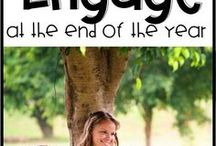End of the School Year / Lessons and ideas to engage students at the end of the school year.