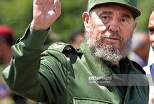 """Fidèle Castro """" Homme détat """" / Fidèle Castro """" 1926 à 2016 """" révolutionnaire et homme d'état de Cuba. Né Alejandro Castro Ruz père de la révolution cubaine... et dictateur."""