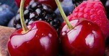 """Fruits """" Des couleurs et des formes """" / Les fruits des quatre saisons... De nombreux fruits venant du monde entier."""