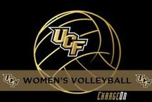 Women's Volleyball / Shots of the UCF Volleyball team