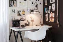 WORKSPACE / Inspiratie... voor in de werkkamer