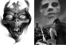 Science Fiction/Fantasy / Sci-fi art for different types of clients from our creative roster.