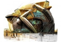 Architectural Drawing / Helping a scene, interior or exterior building come to life.