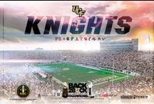 UCF Knights Posters / Official schedule poster of the UCF Knights.
