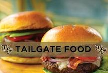 Tailgate Food / You'll have the best tasting food at the tailgate.