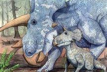 Dinosaurs & other extinct creatures