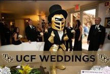 UCF Weddings / UCF inspired weddings. Bring the black and gold to your wedding.