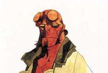 Hellboy & Mignola