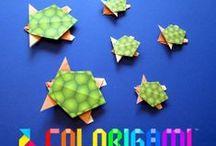 Colorigami - Le coin des enfants