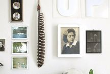 #Inspiration Boards, Gallery Walls and Collections
