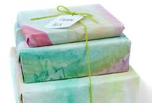 Craft: gift wrapping