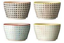 porcelaine et poterie / Objets déco