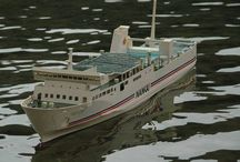 R/C Scale Ship Model ラジコン / 船舶模型倶楽部 黒潮