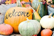Fall Decorating / It's starting to cool off! Embrace Fall with these fantastic decorating ideas!