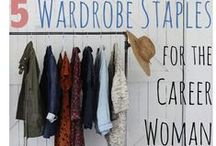 Dress for Success! - Women's Edition / Professional clothing ideas to wear to an interview, work, or a formal/casual career event. There are different types of jobs out there and they all have different clothing style rules. We are here to give you inspiration and help!