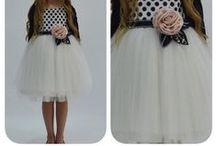 Детская мода / Красивые праздничные платья для девочек и кое-что для мальчиков).