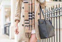 Winter wardrobe / Inspiration for my winter style.