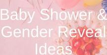 Baby Shower & Gender Reveal Ideas / baby showers, baby shower ideas, baby shower cake, baby shower decoration, baby shower game ideas, gender reveal party ideas, gender reveal cake, gender reveal party.