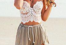 Summer Wardrobe / Inspiration for my summer style.