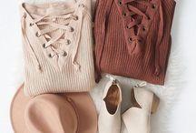 Autumn Wardrobe / Inspiration for my autumn style.