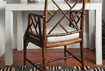 MY DREAM CHAIRS / My dream chairs: Chippendale Bamboo Chair, Thonet Chair, French Bistro Chairs!