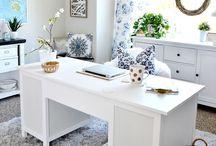 ON THE DESK / Office ideas, desk organisation, home office