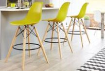 Danetti | Bar Stools / From real and faux leather seats, to wooden and plastic; gas lift pedestal and fixed height stools with legs, there is something for every shape, style and size of interior in the Danetti bar stool range.