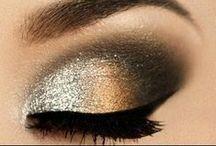 eyeshadow's magic /  Le maquillage est perçu de plusieurs façons; comme une arme de séduction, comme une armure de protection, comme un uniforme, comme un jeu. Mais ce qui me touche le plus, c'est que toutes les femmes ont un rapport de petite fille avec le maquillage. -Maxime Poulin. / by Laurence Boulanger