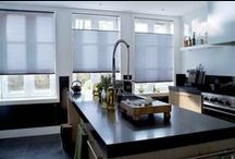Savory Kitchens /  A well-designed kitchen is the centerpiece of a home. Featuring savory ideas for great kitchens, here are some of our favorites that are as appropriate for your guests as they are for you and your family. / by Hunter Douglas Window Fashions