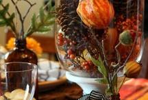 Fall Holidays-Halloween / Halloween and Turkey Day