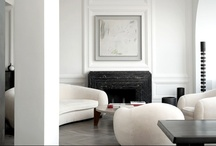 White interiors / Interiors of living spaces with white walls. From minimal all-white spaces to eclectic interiors.