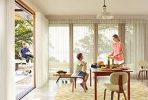 Indoor/Outdoor Style / Windows are the transition that bring that wonderful feeling we have outdoors into our home.  Here are ideas that show how to recreate that outdoor feeling indoors as well as how to create the comfort and convenience we have indoors outdoors, both with style.  / by Hunter Douglas Window Fashions