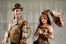 Steampunk / My wife and I created our very own Steampunk costumes from scratch.