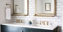 Bathroom Retreat / If I were to ever renovate a bathroom or have a zillion dollars