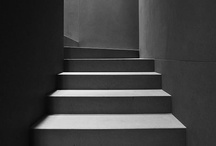 Staircases. / Inspiring staircases. Clean lines + bold materials.