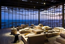 Hotels. / Hotel interiors and architecture. Bold and dramatic spaces, enhancing the experience of your stay.