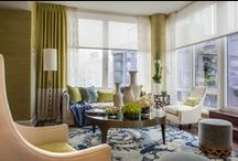 Stylish Showhomes / Inspirational showhomes from across the country that feature the use of Hunter Douglas window treatments by leading designers who show how designing with light can transform a home with beauty and style.  / by Hunter Douglas Window Fashions
