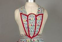 Vintage Aprons / ideas for custom made aprons