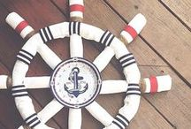 Nautical Baby Shower / Ideas, decor and recipes for a nautical-themed, baby shower brunch