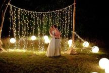 Ashlie's wedding / Here are some ideas I'd already had pinned to a previous 'party' board. I just repinned a few I thought might be something that interested you ladies / by Heather Macke