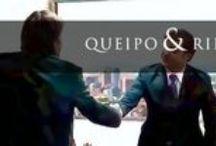 Queipo & Riego / LOS ABOGADOS QUEIPO & RIEGO ENTENDEMOS QUE, EN EL MUNDO ACTUAL, HIPERCOMPETITIVO; los abogados debemos ejercer no sólo como juristas, sino también como asesores de negocios, aportando valor añadido a la empresa. Nuestra formación, no sólo en derecho sino tambien en management, nuestra experiencia y actitudes, van en esa línea: ayudar a la empresa a ser mas competitiva y a internacionalizarse / by Impronta Comunicación