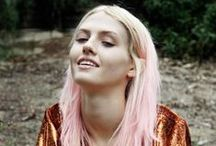 Pastel hair / We love cruelty-free hair colouring! Pastel will always be in our hearts.