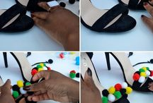 Easy Fashion DIY Projects / Fun Fashion DIY Projects with Ankara and more