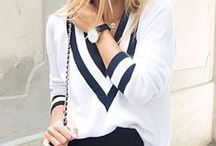 Casual chic outfits / Outfits you can wear easily and be comfortable in - but are super in right now.