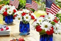 4th of July / Let's decorate, gather, eat....