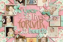 Scrap Layouts / See my other scrap boards