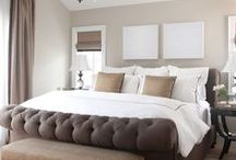 Master Bedrooms / Inspiration and ideas for master bedrooms.